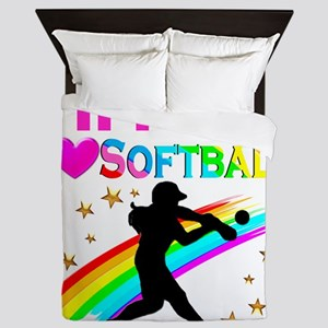 SOFTBALL STAR Queen Duvet