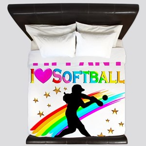 SOFTBALL STAR King Duvet