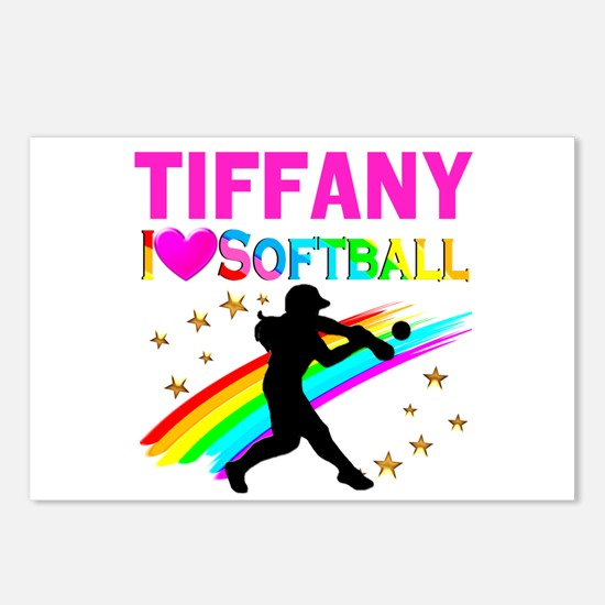 SOFTBALL STAR Postcards (Package of 8)