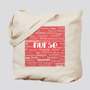 Nurse Adjectives Tote Bag