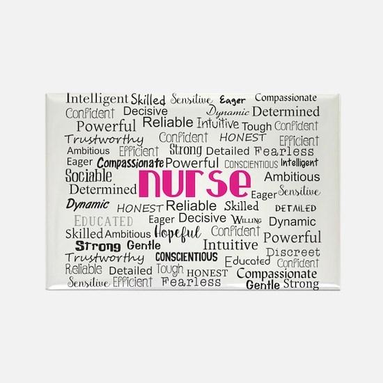 Nurse Adjectives Magnets