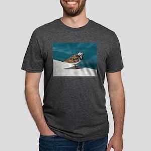 Ruddy Turnstone Bird - Bermuda T-Shirt