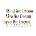Live the Dream Mini Poster Print