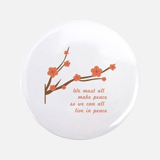 Make Peace Button