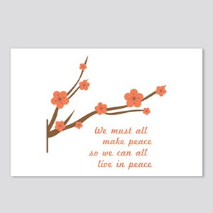 Make Peace Postcards (Package of 8)