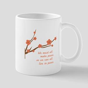 Make Peace Mugs