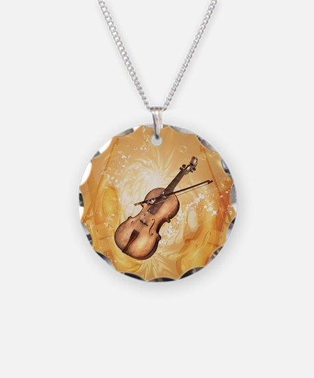 Awesome violin Necklace