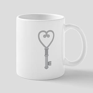 Heart Key Mugs