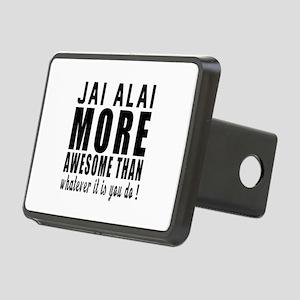 Jai Alai More Awesome Desi Rectangular Hitch Cover