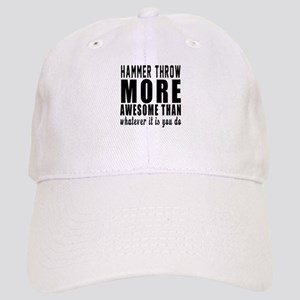 Hammer throw More Awesome Designs Cap