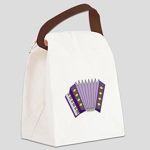 Accordian Canvas Lunch Bag