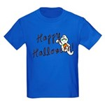 Happy Halloween Ghost Kids Dark T-Shirt