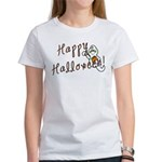 Happy Halloween Ghost Women's T-Shirt