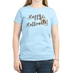 Happy Halloween Ghost Women's Light T-Shirt