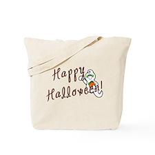 Happy Halloween Ghost Tote Bag