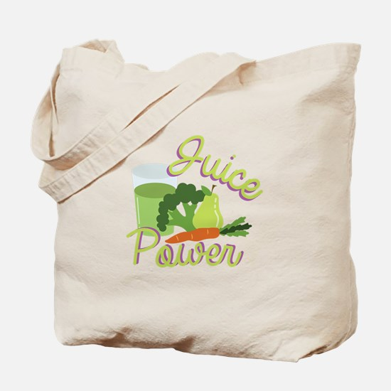 Juice Power Tote Bag