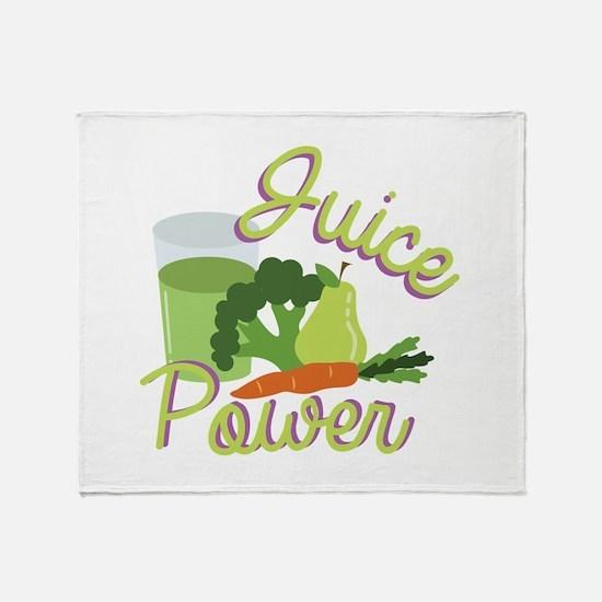 Juice Power Throw Blanket