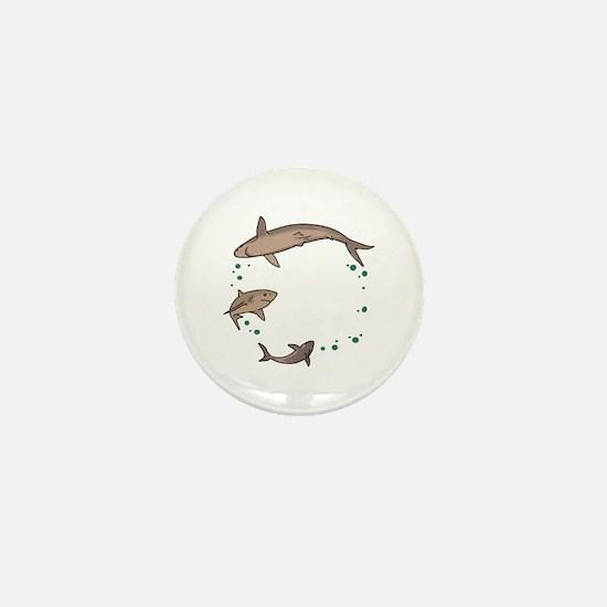 Shark Ring Mini Button