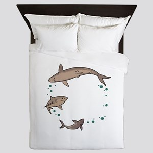 Shark Ring Queen Duvet