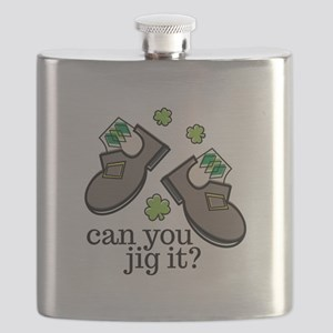 Can You Jig It Flask