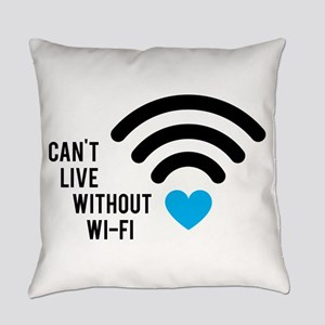 Without WiFi Everyday Pillow