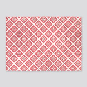 PRETTY IN PINK 5'x7'Area Rug