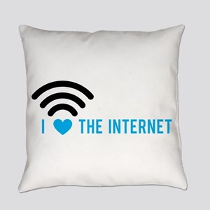 Love The Internet Everyday Pillow