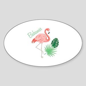 Bahamas Flamingo Sticker