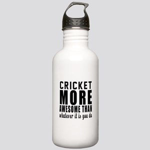 Cricket More Awesome D Stainless Water Bottle 1.0L