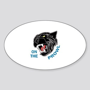 Panther On The Prowl Sticker