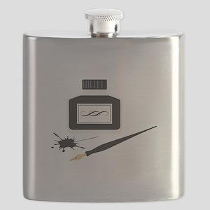Calligraphy Flask