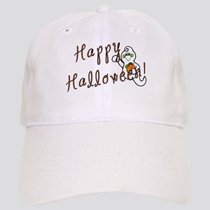 Happy Halloween Ghost Cap
