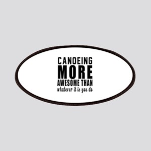 Canoeing More Awesome Designs Patch