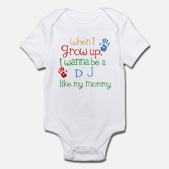 DJ Like Mommy Infant Bodysuit