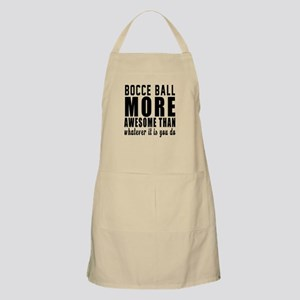 Bocce Ball More Awesome Designs Apron