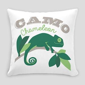 Camo Chameleon Everyday Pillow