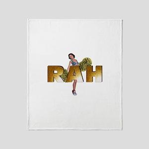 Rah Rah Rah Throw Blanket