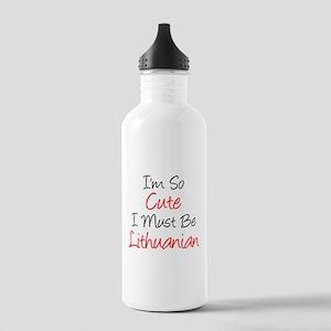 So Cute Lithuanian Drinkware Water Bottle