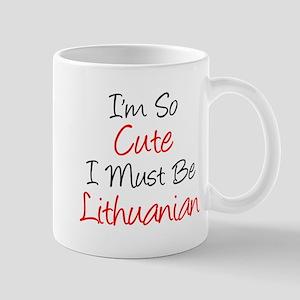 So Cute Lithuanian Drinkware Mugs