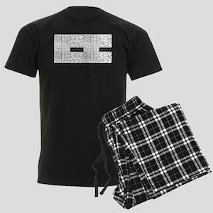 Sudoku Men's Dark Pajamas