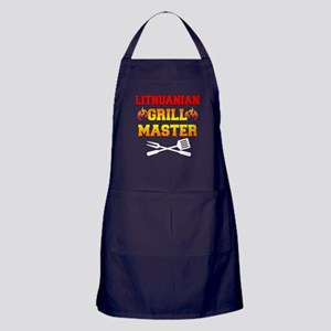 Lithuanian Grill Master Apron (dark)