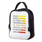 Socialist Power Grab Neoprene Lunch Bag