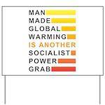 Socialist Power Grab Yard Sign