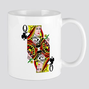 Queen of Clubs! Mug