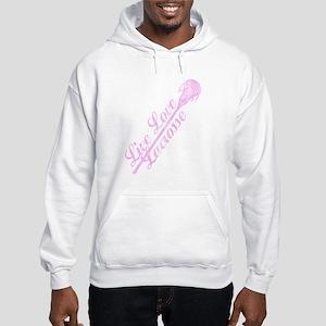 Live Love Lacrosse Girl's Lacrosse LAX Sweatshirt
