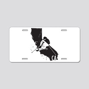 Ski California Aluminum License Plate
