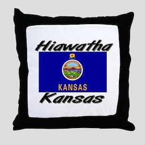 Hiawatha Kansas Throw Pillow