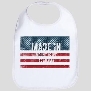 Made in Mount Olive, Alabama Baby Bib