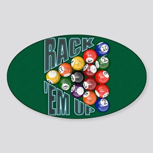 Rack Em Up Sticker