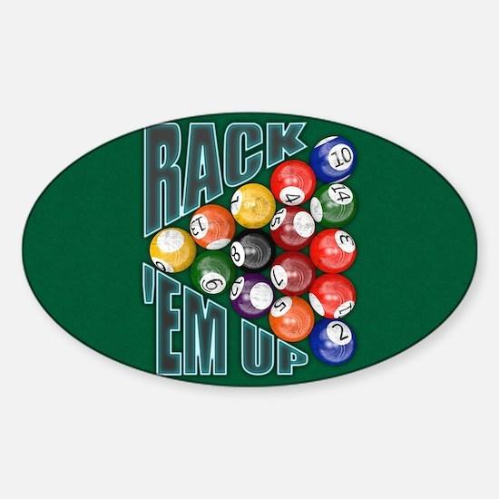 Rack Em Up Decal